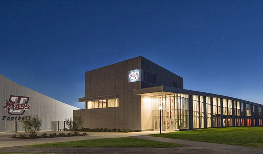 UMass Amherst Football Performance Center & Press Box